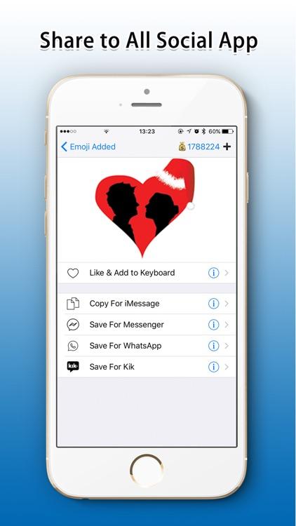 Emoji Added - Christmas Emoji screenshot-3