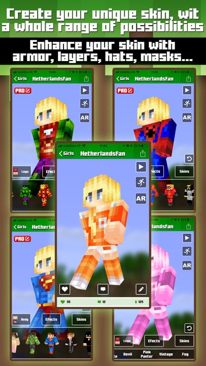 Skins for Minecraft MCPE screenshot-4