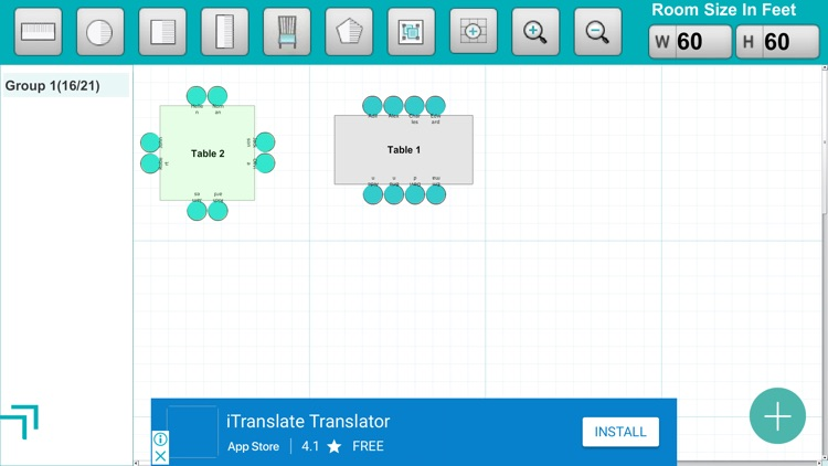 Seating Arrangement screenshot-3