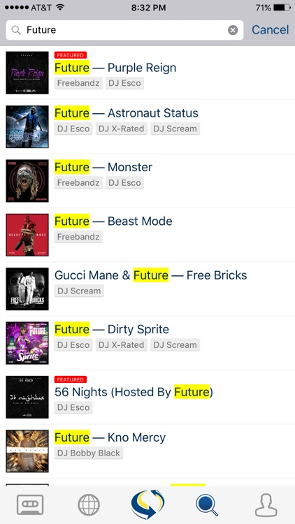 LiveMixtapes screenshot-4