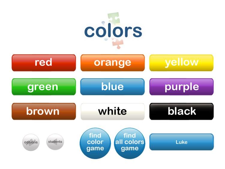 Autism iHelp – Colors SLP Edition