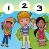 123 Count-ing & Learn-ing Number-s To Ten Kid-s Game-s with Children of the World