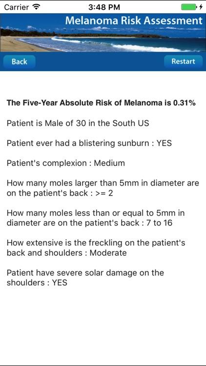 Melanoma Risk Assessment Tool screenshot-4