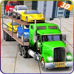 Car Transporter Euro Truck 3D