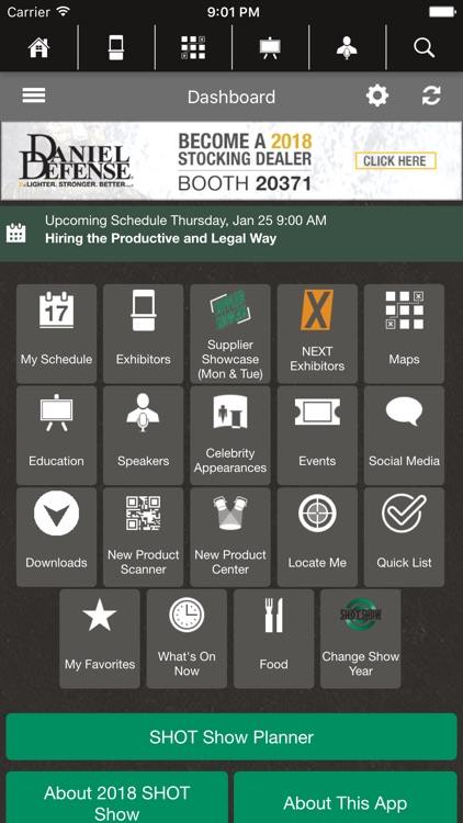 SHOT Show Mobile screenshot-1