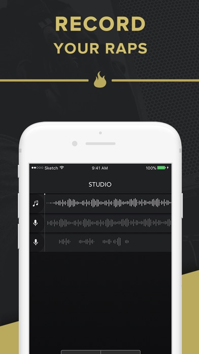 Rapchat: Rap Maker and Studio for Windows