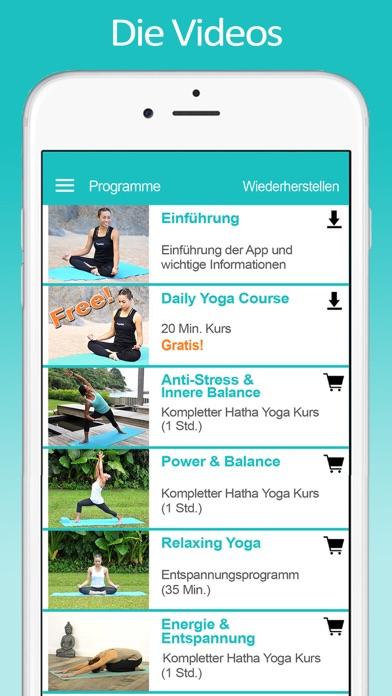 YogaWatScreenshot von 2