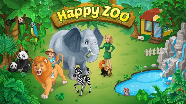 Happy Zoo - Wild Animals