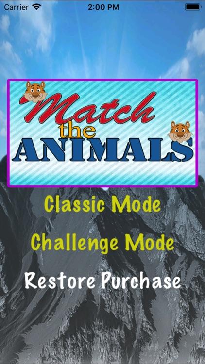 Match The Animals - Zoo