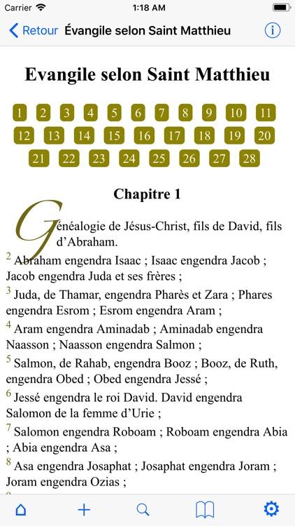La Sainte Bible screenshot-4