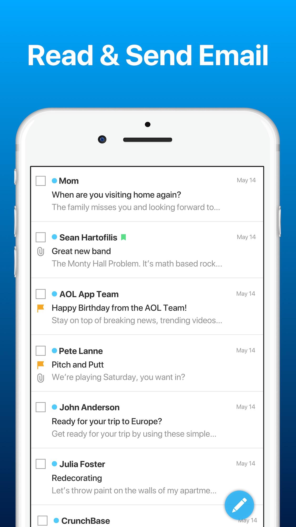 AOL: News Email Weather Video Screenshot