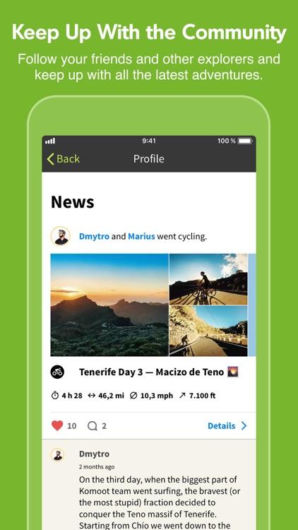 Komoot — Cycling & Hiking Maps screenshot-7