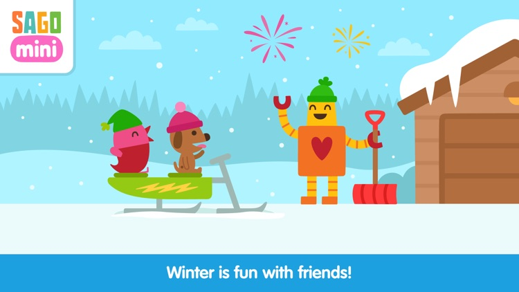 Sago Mini Snow Day screenshot-3