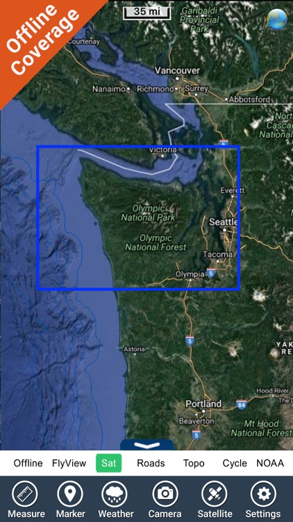 Olympic National Park GPS Maps screenshot-4