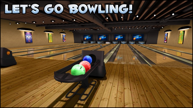 Galaxy Bowling HD screenshot-0