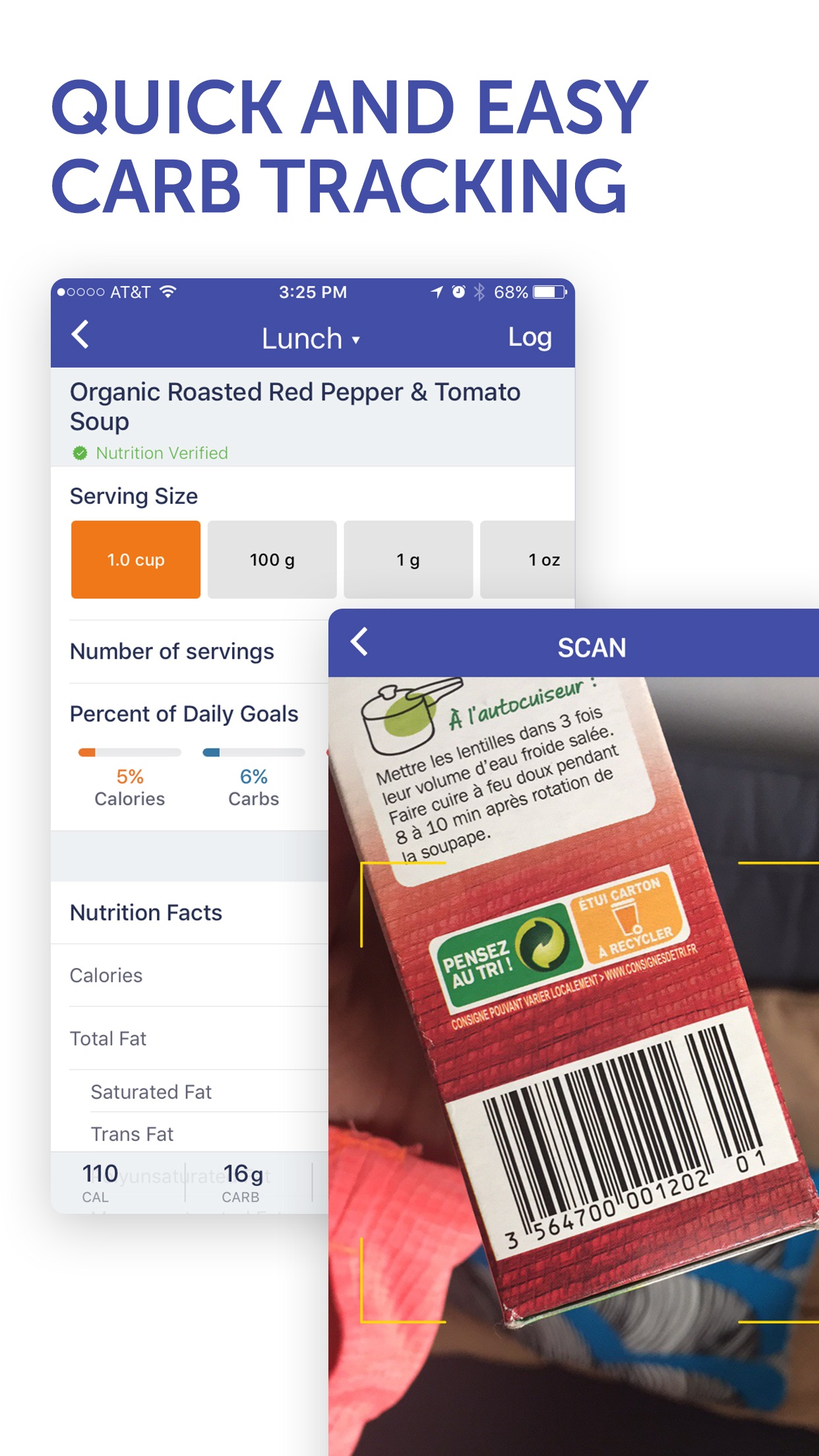 Glucose Buddy Diabetes Tracker Screenshot