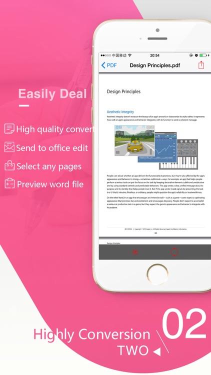PDF To Word Converter pro