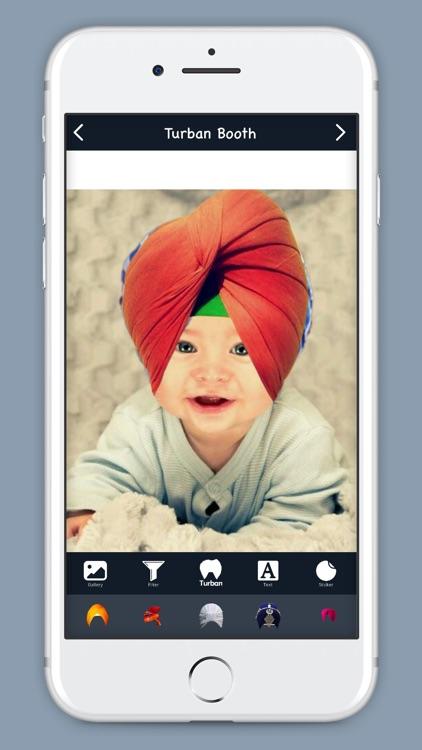 Turban Booth Photo Editor screenshot-4