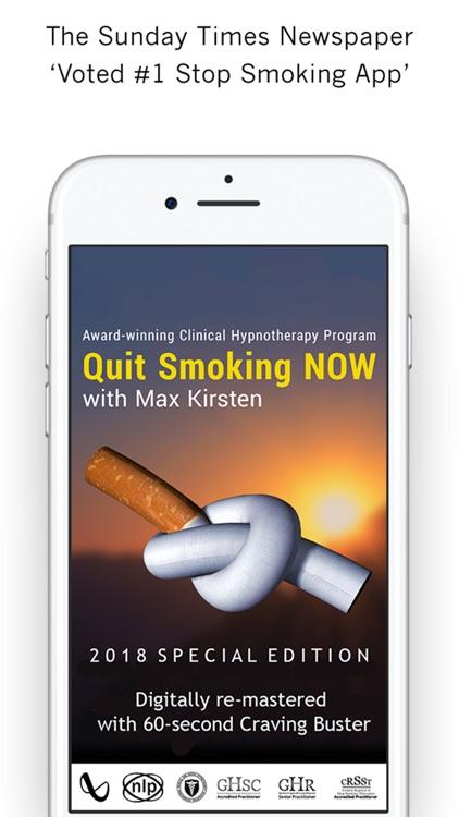 Quit Smoking NOW - Max Kirsten