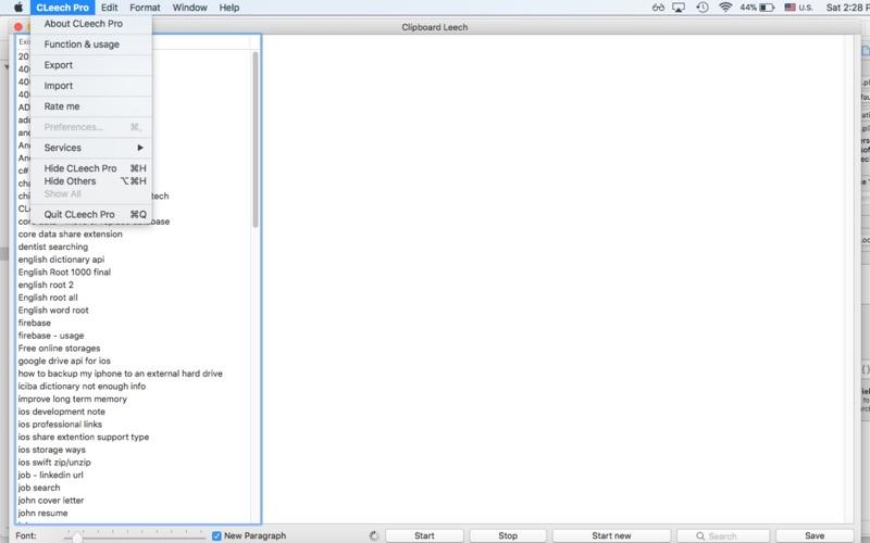 CLeech Pro скриншот программы 4