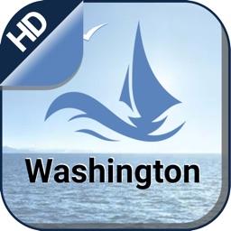 Washington gps offline nautical charts for sailing