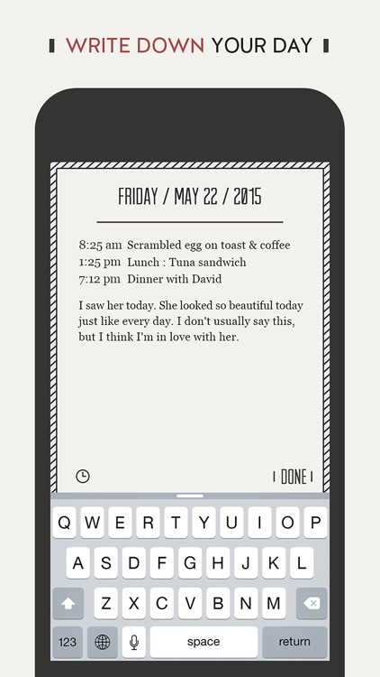 DayGram - One line a day Diary screenshot-3