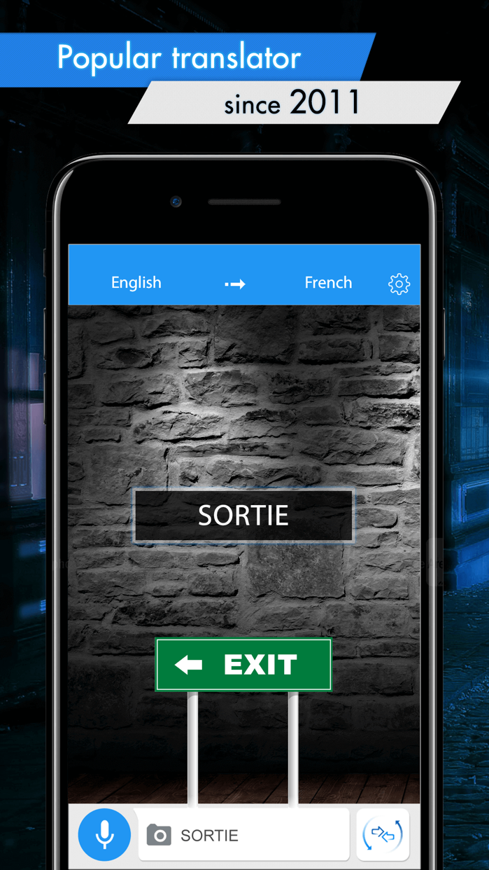 Translator with Speech Screenshot