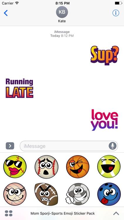 Mom Sporji + Word Stickers