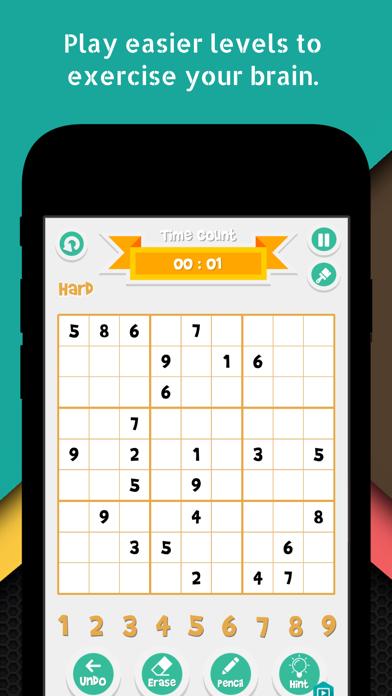 Sudoku Solver Crossword Puzzle Screenshot