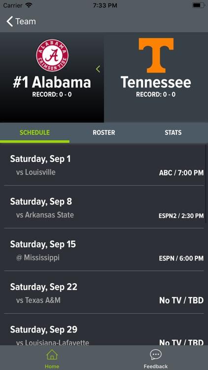 Alabama Football 2018 screenshot-7