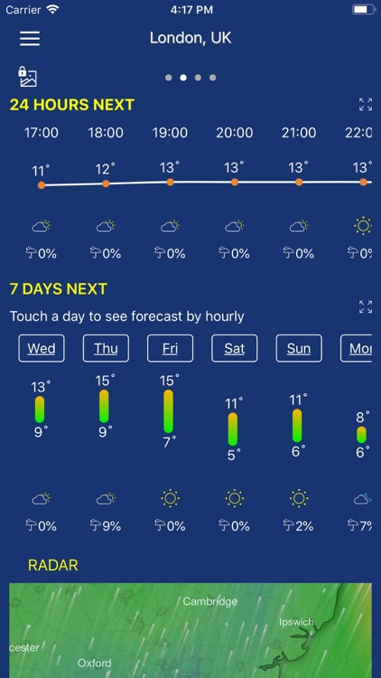 Accurate Weather forecast &map screenshot-7