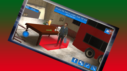 3D Bus Garage Repairing Game