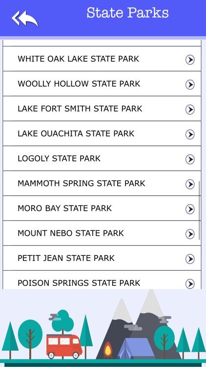 Campgrounds & Rv's In Arkansas screenshot-3