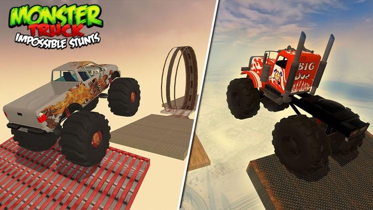 Monster Truck Impossible Stunts screenshot-4