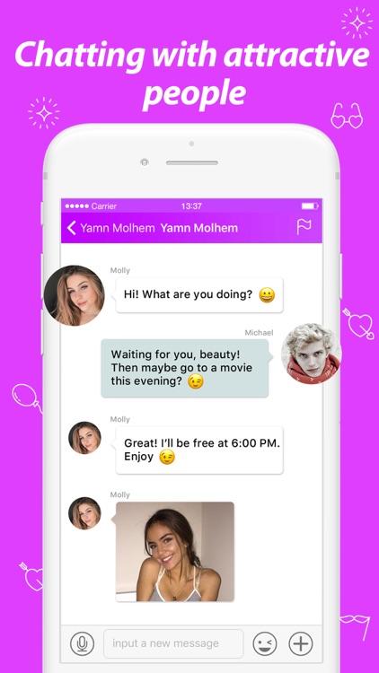 Nighty Chat - Meet & Dating screenshot-3