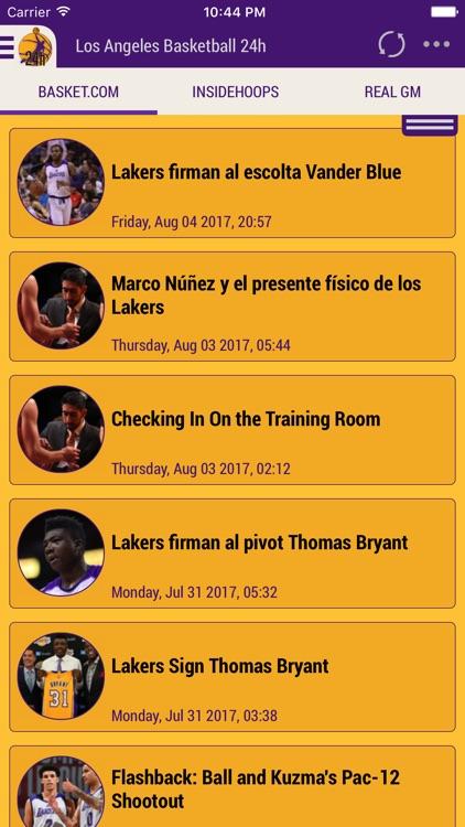 Los Angeles Basket 24h