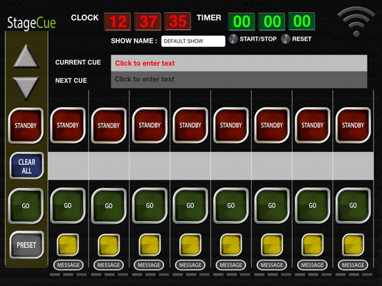 StageCue - 8 Channel Master screenshot one