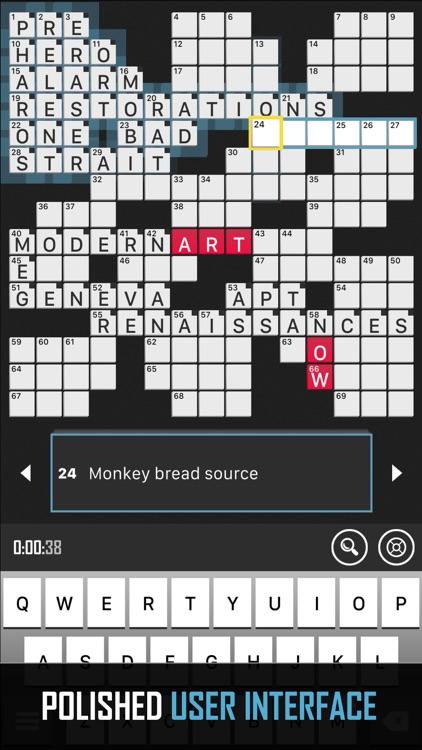 Crossword Puzzle Redstone screenshot-3