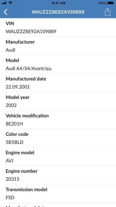 vin decoder for audi : iphoneアプリランキング