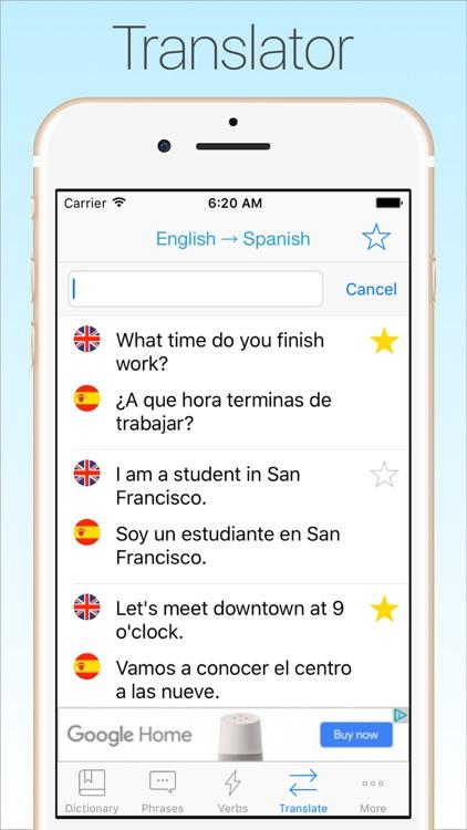 Spanish Dictionary & Translator +