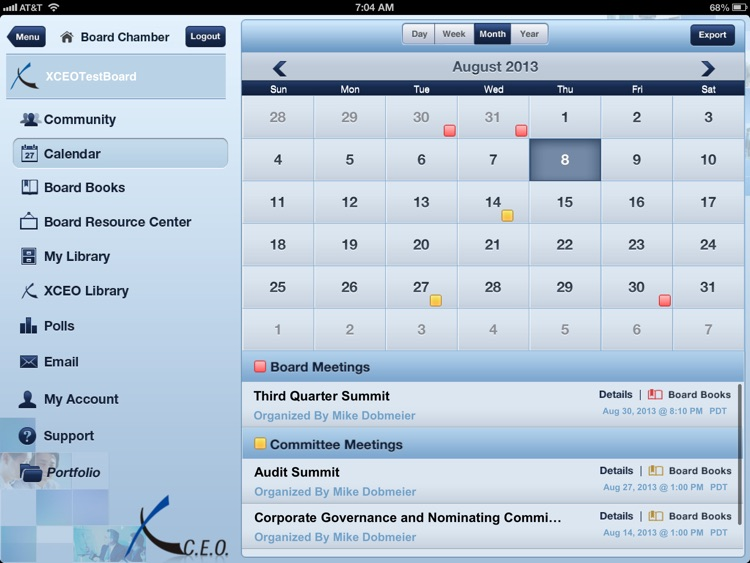 BoardPortal PLUS® On Site screenshot-4