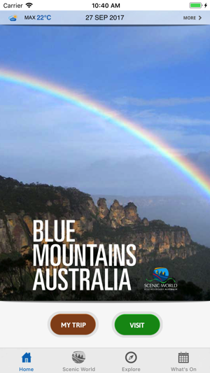 Blue Mountains Australia on the App Store