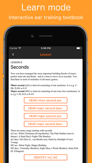 Ear training exercises learn relative pitch records