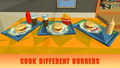 Burger Simulator: Cooking Master 3D screenshot two