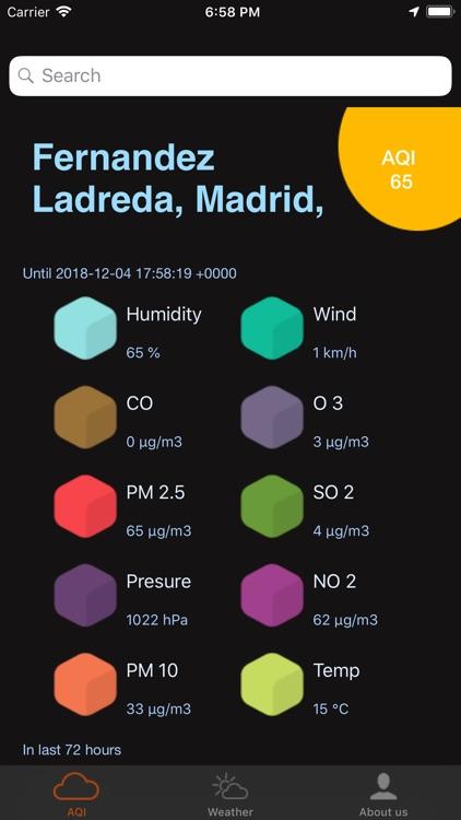 Air Quality Tracker: Pollution