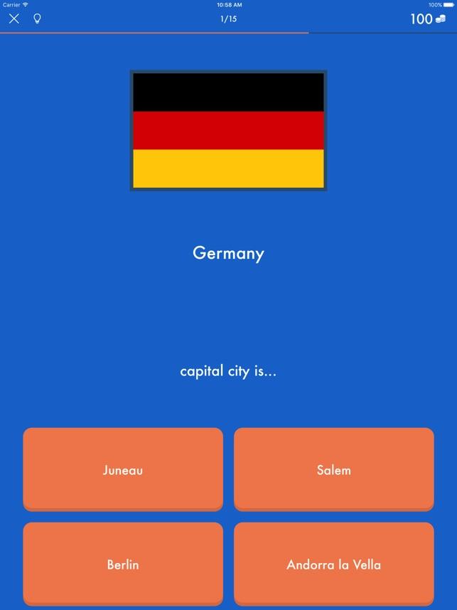 Europäische Hauptstädte & Weltstädte Trivia Quiz im App Store