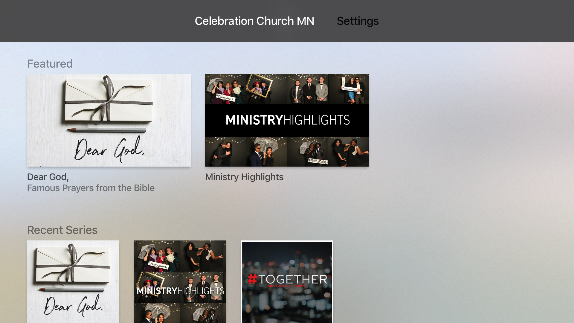 Celebration Church MN screenshot 7