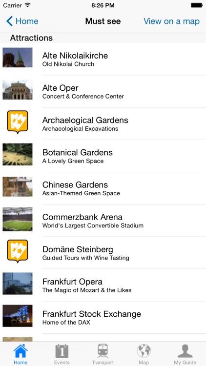 Frankfurt am Main Travel Guide Offline screenshot-3