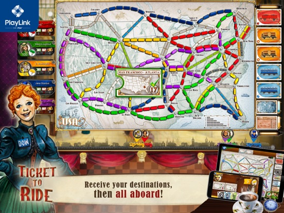 Ticket to Ride for PlayLink screenshot 7