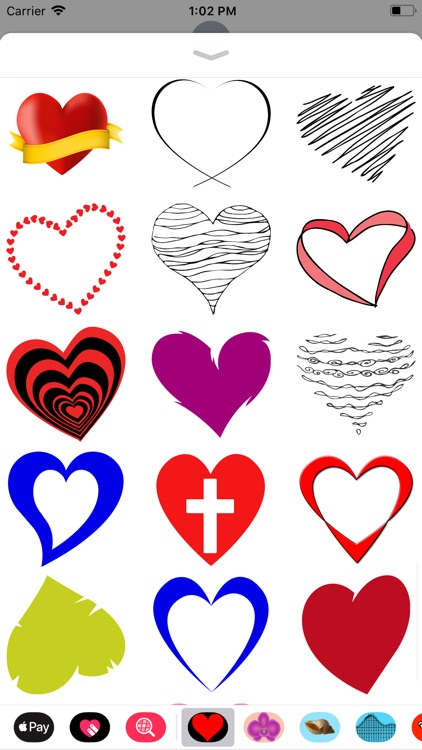 Only Heart Stickers screenshot-5